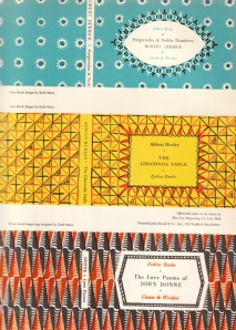 Book Covers designed by Enid Marx from the Penrose Annual for 1950
