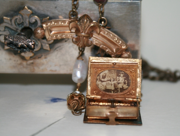 Napoleon Picture Locket Necklace