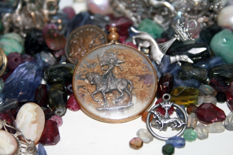 Joan of Arc Locket