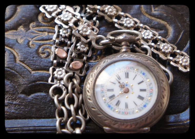 Pocket Watch and Chains