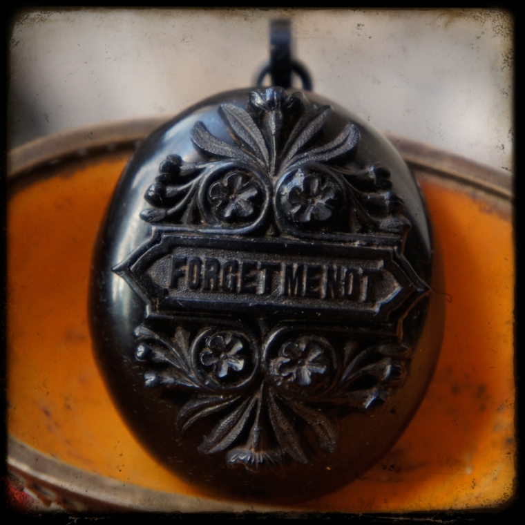 Forget Me Not Locket