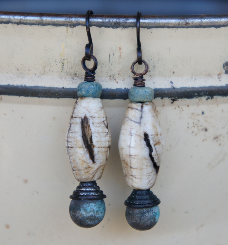 Naga shell earrings