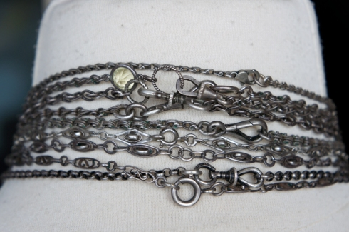old silver chains 2