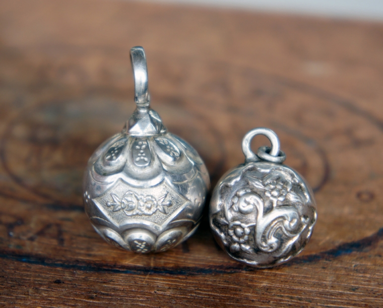 silver rattles