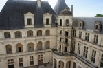 Chambord courtyard