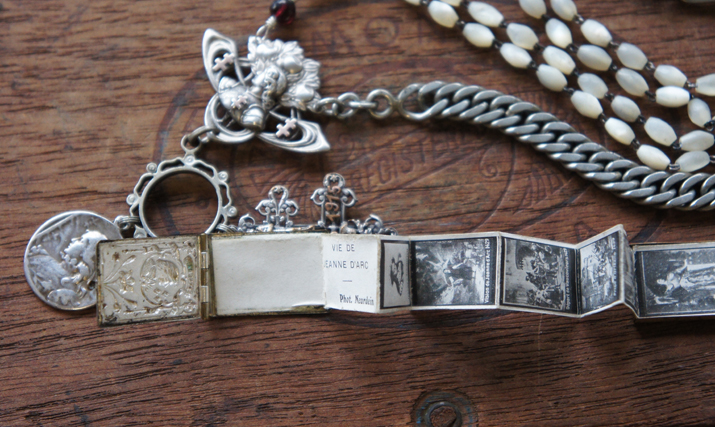Joan of Arc book locket
