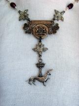 Ermine necklace