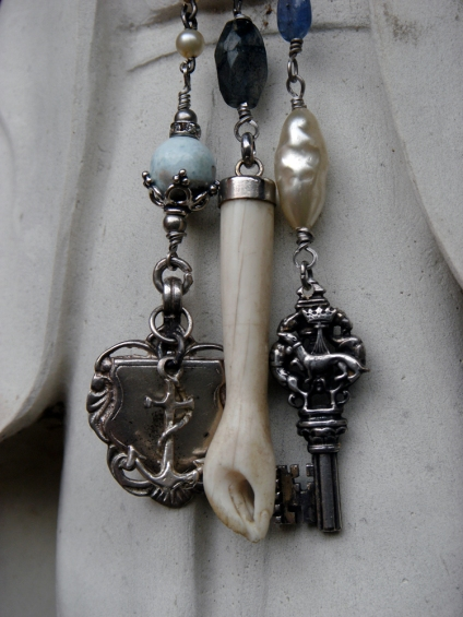 Charms from a charm necklace