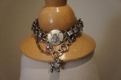 A selection of assemblage bracelets