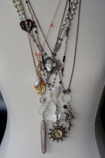 Selection of necklaces